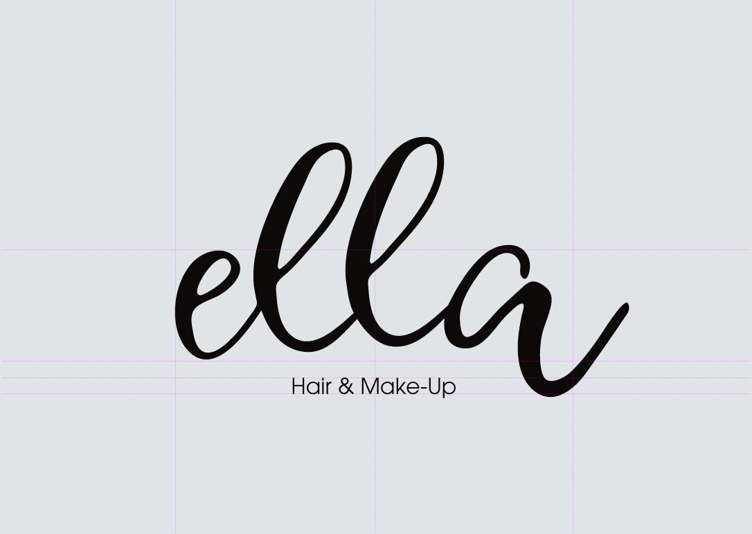 Ella Hair & Make Logo