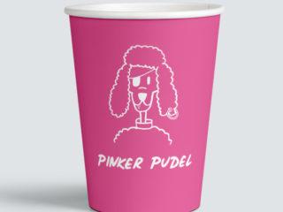 Pinker Pudel